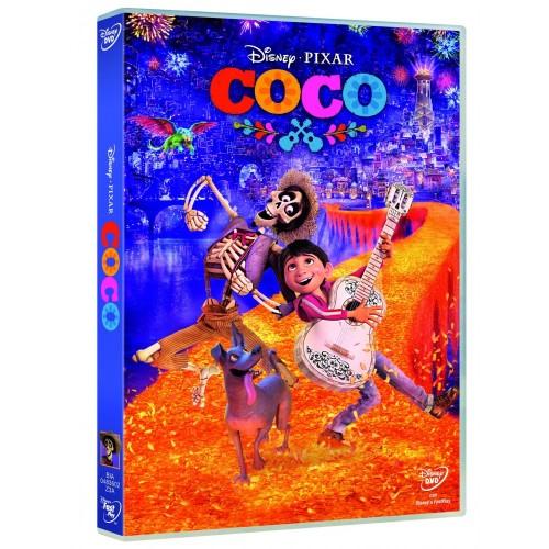 DVD Film Coco Disney Pixar del 2017