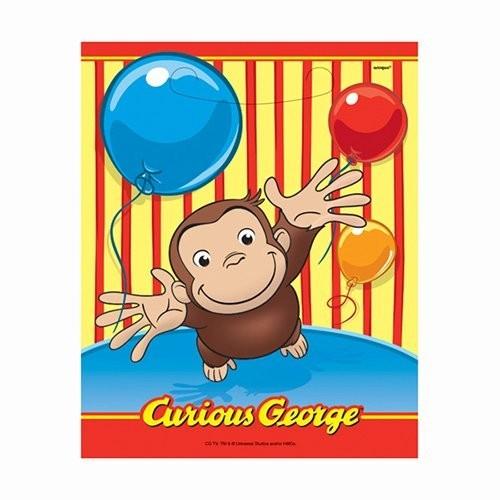 8 sacchetti tema Curioso come George