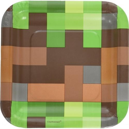 Piatti quadrati Minecraft