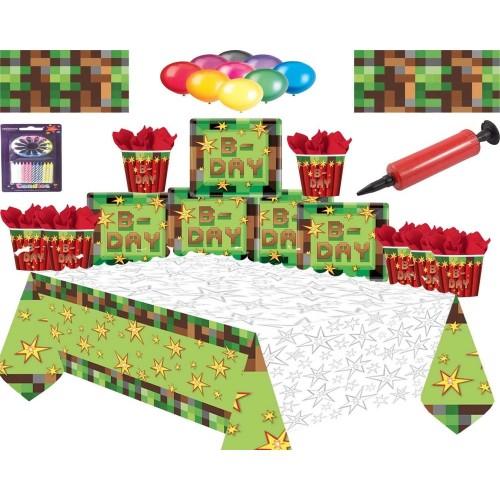 Kit per 16 persone Minecraft