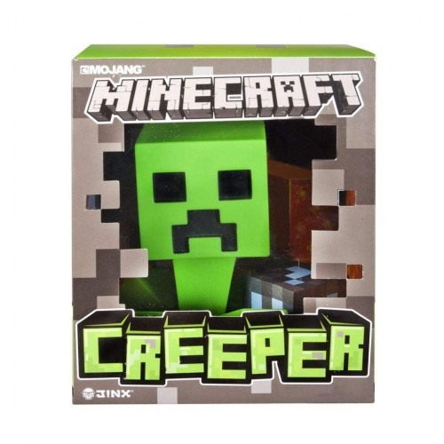 Minecraft- Personaggio Creeper in plastica Alto 15 cm, 6022578