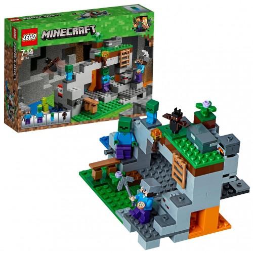 La Caverna Dello Zombie Minecraft  - Lego