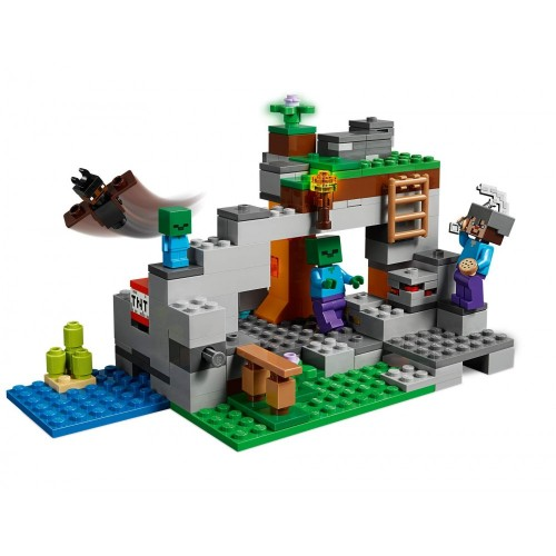 La Caverna Dello Zombie Minecraft Lego Gioco Per Bambini