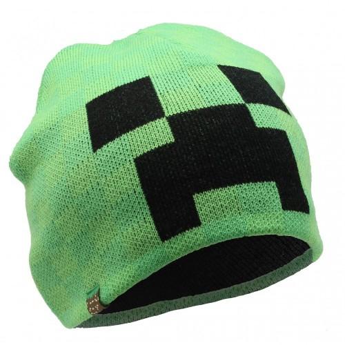 Cappello invernale Creeper di Minecraft