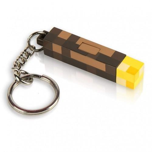 Minecraft - Pdf00004852 - Minecraft - Portachiavi Flambeau - 5,7 Cm
