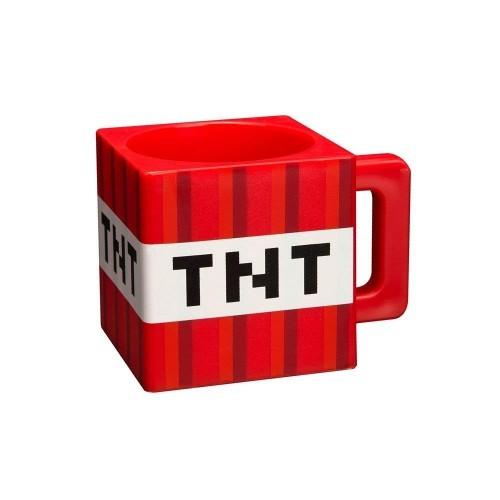 Minecraft 8.89343E+11 Tazza Block, 290 milliliters, plastica, Multicolore