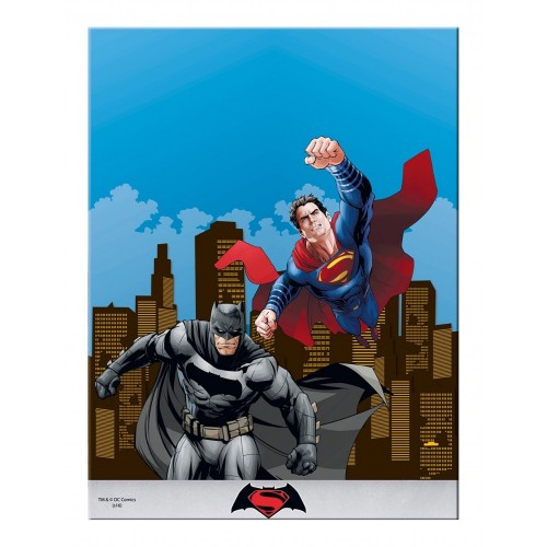 Tovaglia tema Batman Vs Superman in PVC