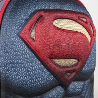 Artesanía Cerdá-3D Superman Logo Zaini, Borse E CARTOLERIA, Colore Multicolor , 34 Centimeters, 2100001412
