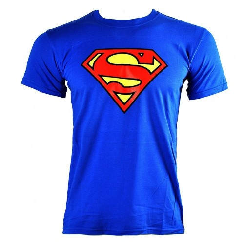 T-shirt Superman blu