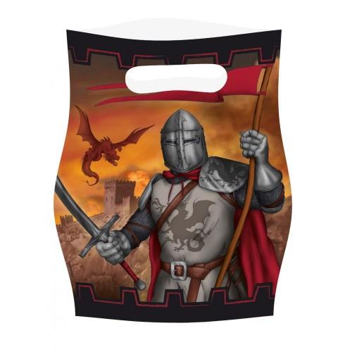 8Sacchetti tema Cavaliere Medioevale