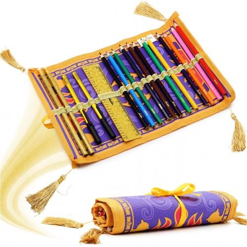 Astuccio con matite tappeto Aladdin - Disney