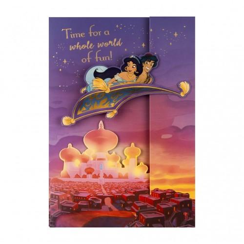 Biglietto di auguri La lampada di Aladino