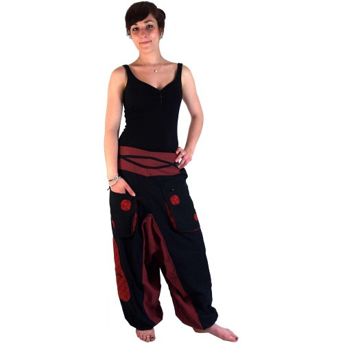 Pantalone di Aladdin a spirale