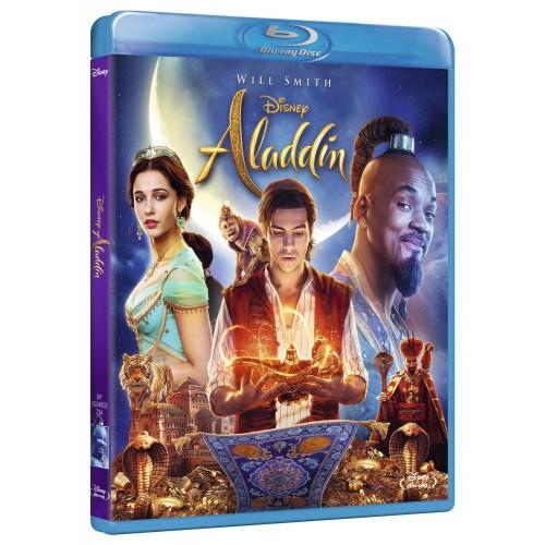 Blu Ray, film di Aladdin della Disney