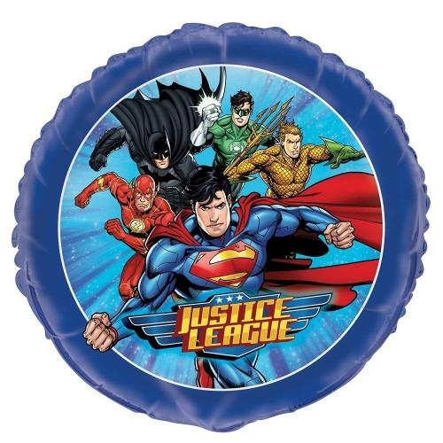 Foil tondo tema Justice League