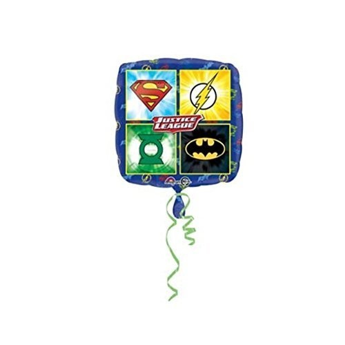 Palloncino quadrato tema Justice League