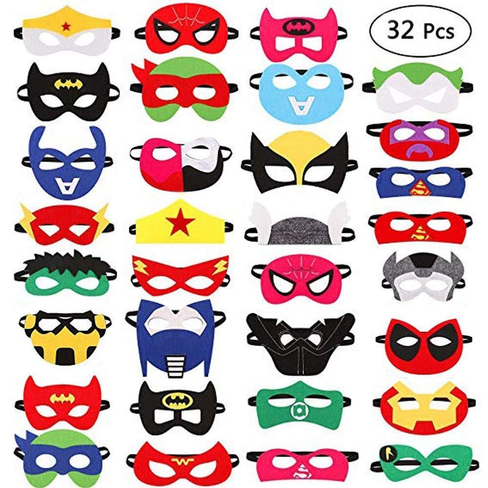 32 mascherine super eroi
