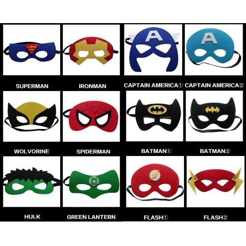 32 Pezzi Maschere Per Bambini Adulti Mascherata Per Feste Mascherine Supereroi Supereroe Maschera Per Feste Per Bambini Super