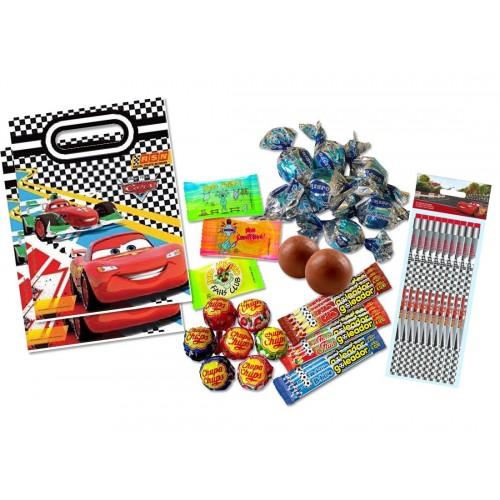 Regalini fine festa Cars - con caramelle e bustine