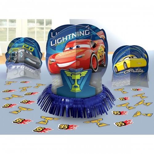 Centrotavola Cars