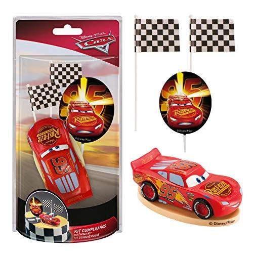 Kit decorazione torta Cars