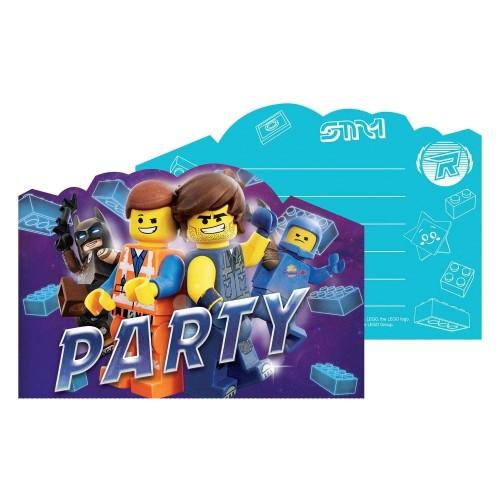 Inviti compleanno tema Lego Movie 2