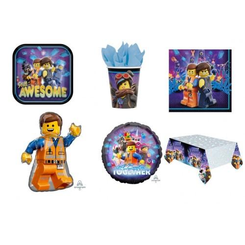 Set per 40 bambini a tema Lego Movie 2