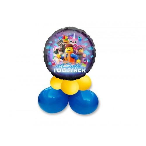 Centrotavola di palloncini Lego Movie