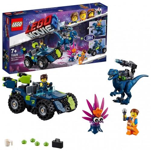 LEGO Movie 2: Il fuoristrada Rex-tremo di Rex