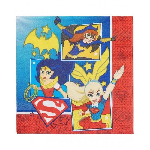 Tovaglioli DC Super Hero Girls