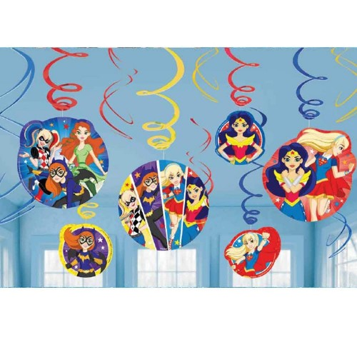 Festone pendete DC Comics Superhero Girls