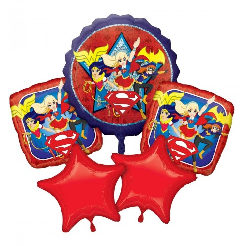 Set Palloncini DC Super Hero Girls