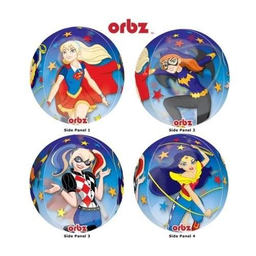 Palloncini Orbz DC super Hero Girls