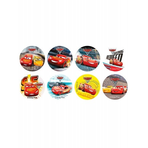 Mini cialde Cars, confezione da 16 pz