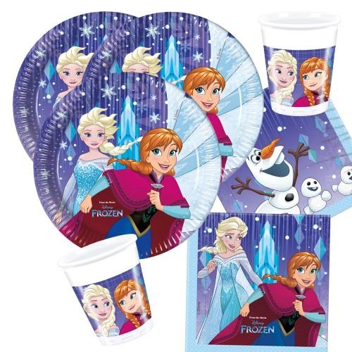 Kit 8 persone Frozen nuovo Design