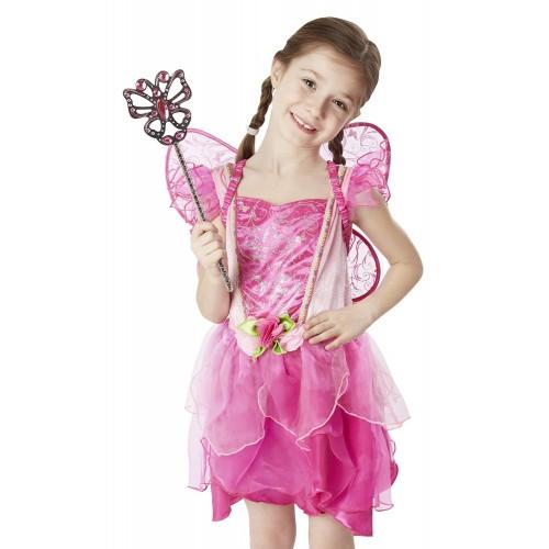 Costume da fata dei fiori per bambine, per Carnevale