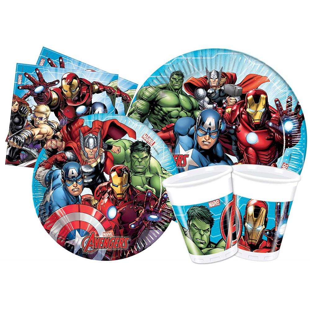 Kit 24 persone Avengers