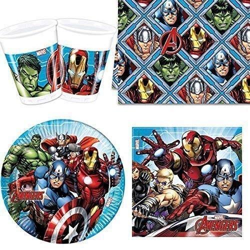 Kit 8 persone Avengers