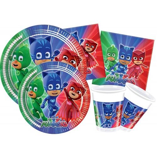 Kit 8 persone PJ Masks