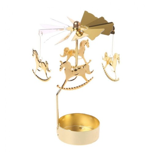 Porta candele tema giostra / Carousel