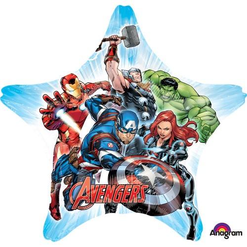 Palloncino stella Avengers per party e feste