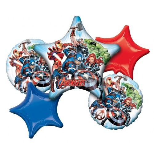 Composizione palloncini Avengers originali Marvel
