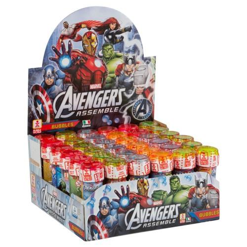 Bolle di sapone Avengers - Confezione da 36 flaconi