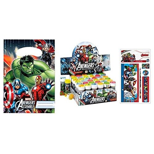 Regalini fine festa Avengers