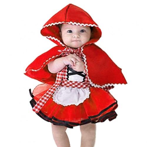 Costume Cappuccetto Rosso neonato