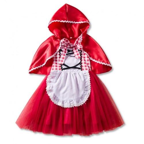 Travestimento Cappuccetto Rosso per bambina