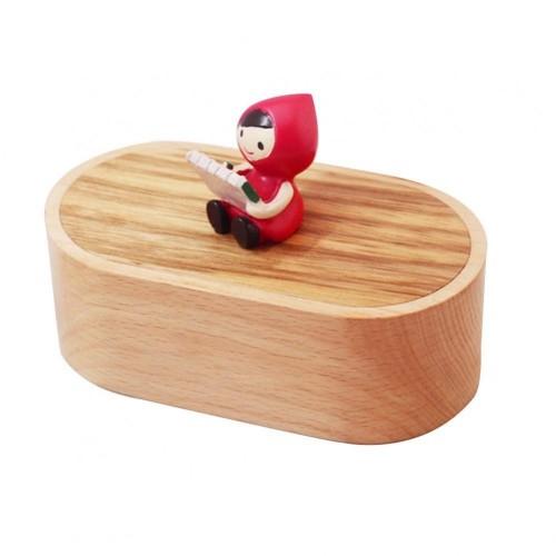 Carillon in legno Cappuccetto Rosso