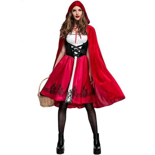 Costume Cappuccetto Rosso per adulti