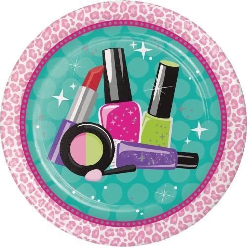8 Piatti Make Up, Sparkle Spa Party, per feste