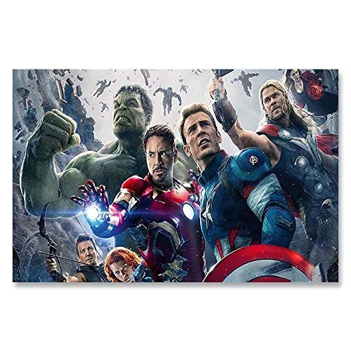 Poster - banner Avengers, dimensione A4